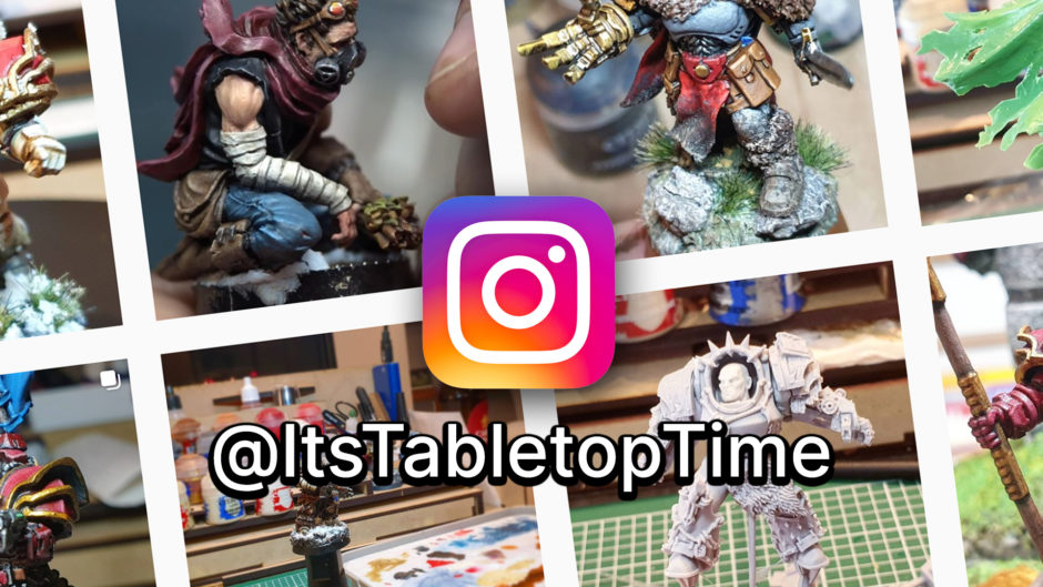 Tabletop Time is on Instagram!